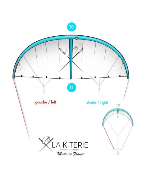 GONG WING PLUS - KITESURF Bladder