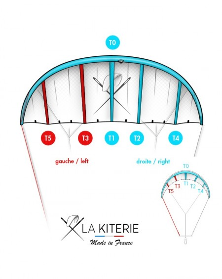SLINGSHOT TURBINE - KITE BLADDER