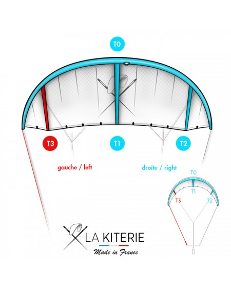 CRAZYFLY SCULP - KITESURF Bladder